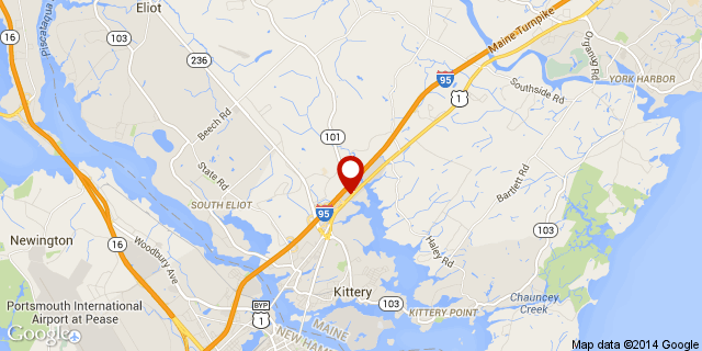 Kittery Tanger Outlets Map